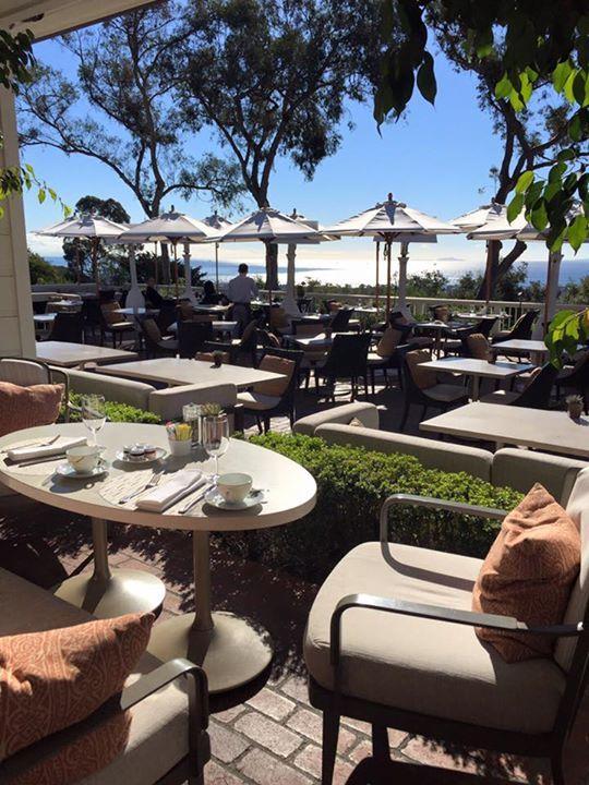 Beautiful morning for breakfast at Belmond El Encanto Santa Barbara, the riviera of California @belmondtravel