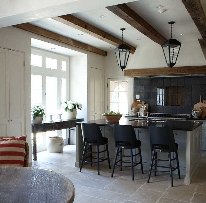 Belgian style townhome in Houston via Belgian Pearls blog