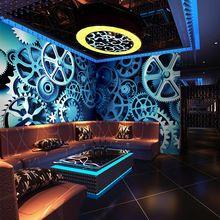 Металл обои узор росписи обоев ресторан кафе бутики 3D стереоскопический обычный размер(China (Mainland))