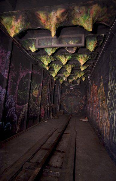 Cave Hallway- RockyPoint Amusement Park, Warwick, Rhode Island