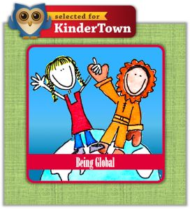KinderTown selects Being Global as a recommended kids app for learning through play.