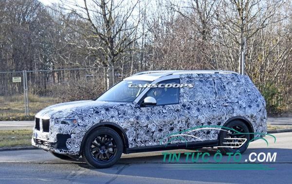 BMW X7 SUV sẵn sàng ra mắt thế giới