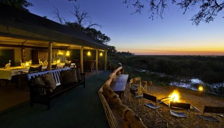 Duma Tau Camp, Savuti area, Botswana