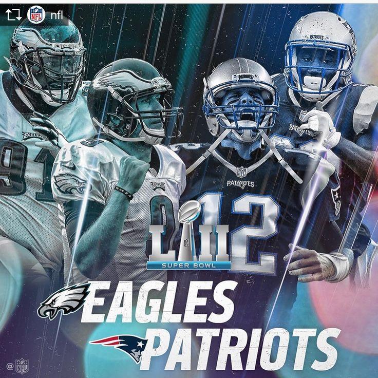 NFLは21日プレーオフのカンファレンス決勝が行われニューイングランドペイトリオッツNew England PatriotsとフィラデルフィアイーグルスPhiladelphia Eaglesが第52回スーパーボウルSuper Bowl LII進出を決めた #nfl  #nflplayoffs  #superbowl  #newenglandpatriots  #philadelphiaeagles