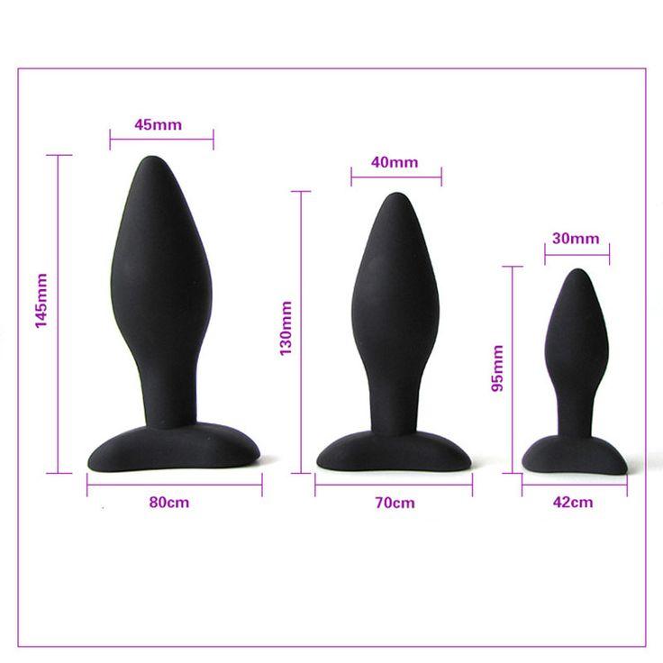 100% Real Photo 3 Rozmiar Krzemu Tyłek Anal Zabawki Gładka Dotykowy Wkładki wtyczki Korek Sex Zabawki Dla Dorosłych Sex Produkty Dla Mężczyzn I kobiety