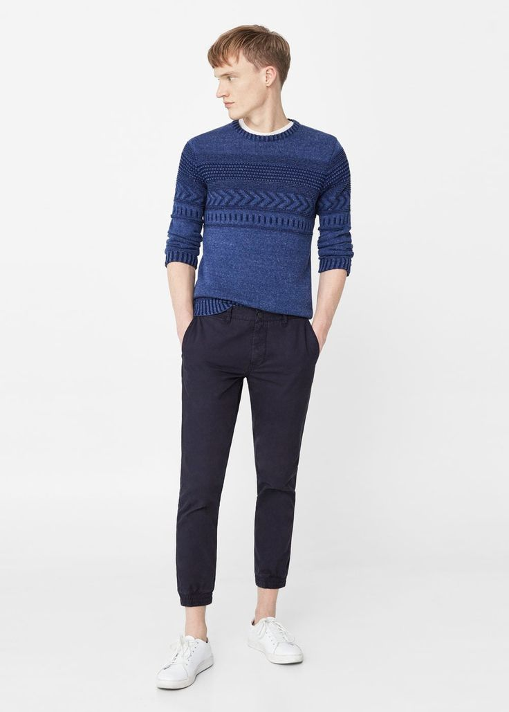 Chino estilo jogging - Pantalones de Hombre | MANGO Man España