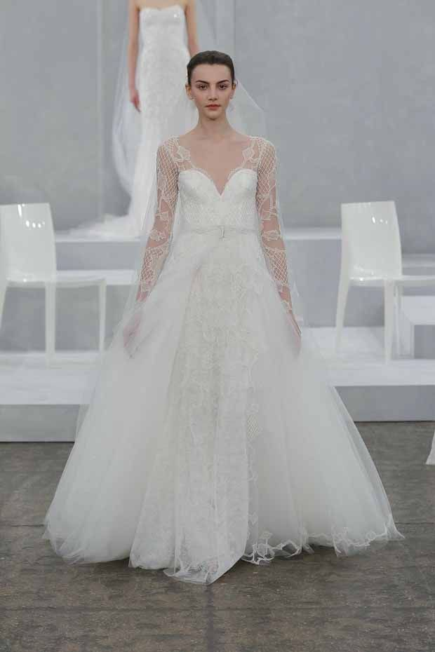 Top Wedding Dress Trends for 2015: tonnes of tulle