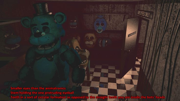 Get it if you fail in fnaf 1 you get stuffed in the suit when it