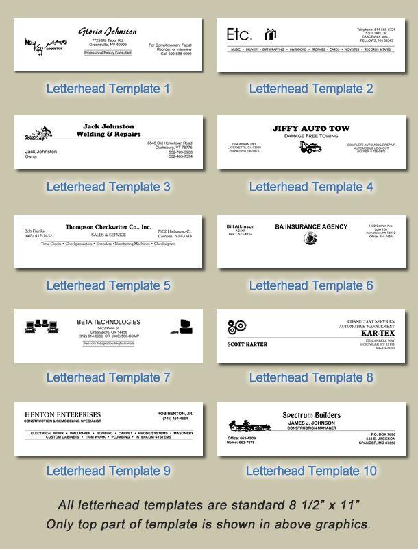 Más de 25 ideas increíbles sobre Free letterhead templates en - letterhead sample in word