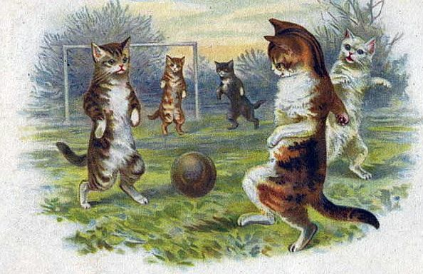 Vintage kitten Greeting Card Clip Art | ... vintage clip art and greeting cards by linking to us from your blog or