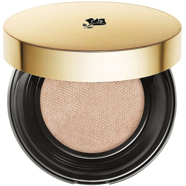 Lancôme Teint Idole Ultra Cushion Foundation SPF 50 found on Polyvore featuring beauty products, makeup, face makeup, foundation, moisturizing foundation, long wearing foundation, spf foundation, lancome foundation and liquid foundation