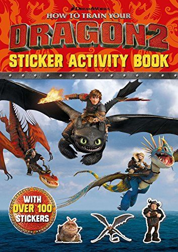How To Train Your Dragon Tie In 1: How to Train Your Dragon 2 Sticker Activity Book by Cressida Cowell http://www.amazon.co.uk/dp/1444917994/ref=cm_sw_r_pi_dp_nNPrub0HRGFSX
