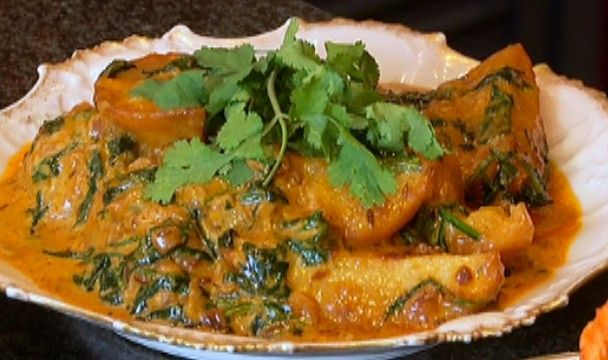 Creamy Potato and Spinach : Food : The Home Channel