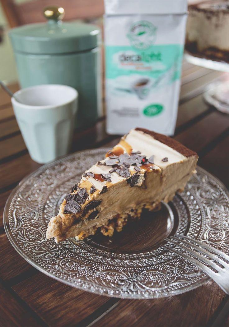 Cheesecake al caffè e pop corn caramellati: golosità e freschezza unica!