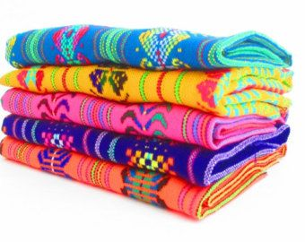 Mexican Fabric Party Decorations By MexFabricSupplies