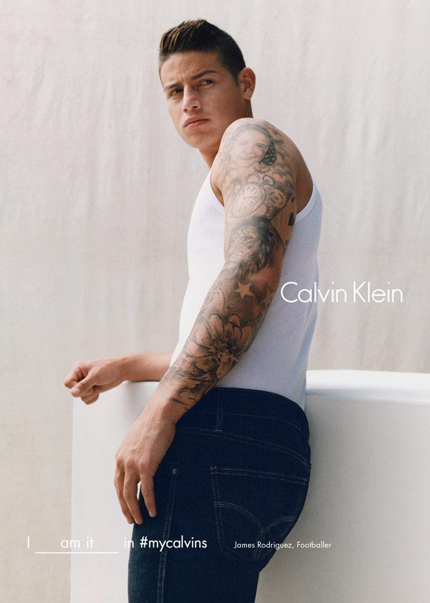 James Rodriguez  : James for Calvin Klein