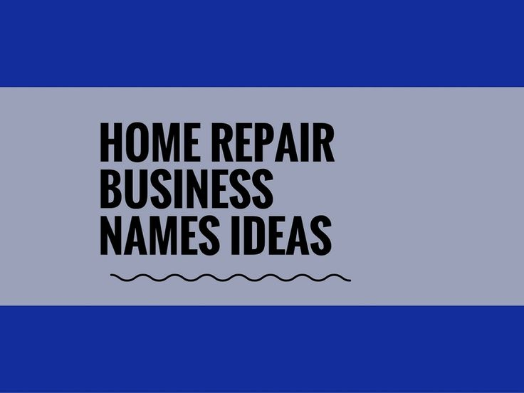 Home Repair businesses serve homeowners and real estate investors by providing a range of construction and innovative services.choosing a creative company name can attract more attention.A Creative name is the most important thing of marketing. Check here creative, best Home Repair Business names ideas
