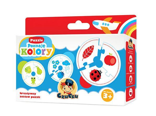 Poznaję kolory - puzzle dla najmłodszych