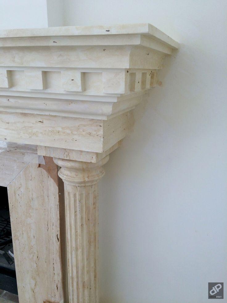 Proyecto imitaci n m rmol chimenea decopint pintura for Pintura para marmol