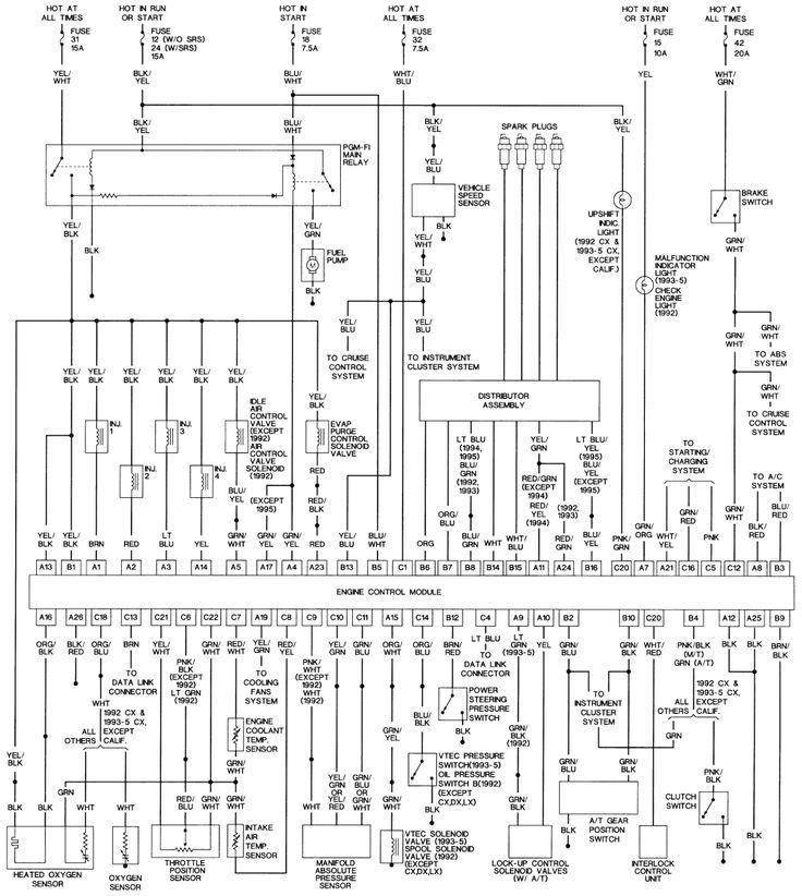 Repair Guides Wiring Diagrams Autozone Com With Honda
