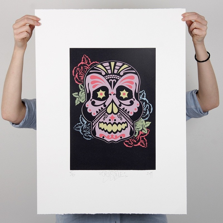 Mexi Moko Colour Print by Trust Me - Prints & Posters NZ Art Prints, Design Prints, Posters & NZ Design Gifts | endemicworld