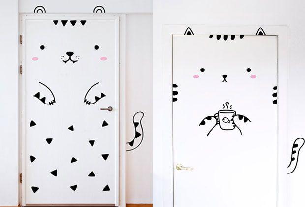 stickers pour porte de placard 28 images comment d 233. Black Bedroom Furniture Sets. Home Design Ideas