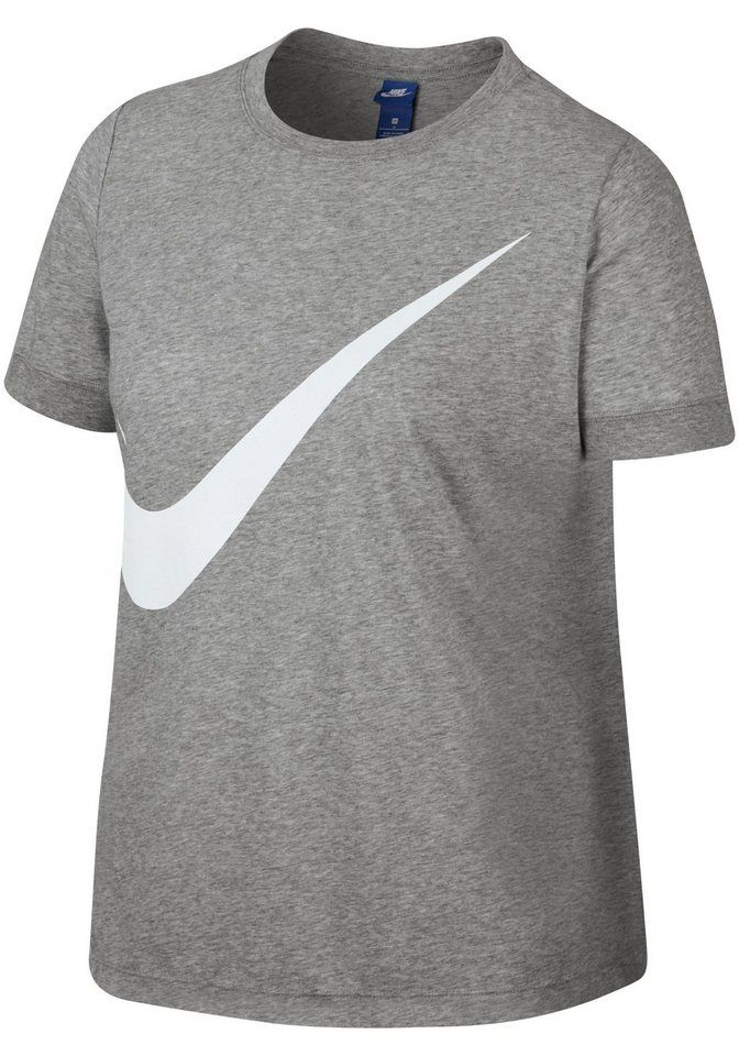 coupon codes cheap sale casual shoes Nike Sportswear T-Shirt »W NSW TOP SS PREP EXT« Große Größen ...