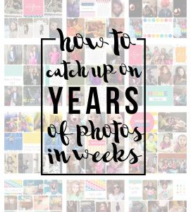 How to Create Family Yearbooks – Part III