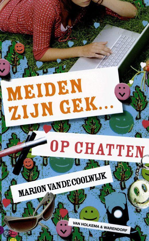 Marion van de Coolwijk, Meiden zijn gek op chatten (10+) Als Janine een weekendje bij haar broer in Amsterdam logeert, mag ze op zijn computer. Er gaat een wereld voor haar open en al gauw ontmoet ze via een chatsite een jongen. Als hij met haar wil afspreken, twijfelt Janine. Toch besluit ze om te gaan, zonder iets tegen haar ouders en vriendinnen te zeggen…