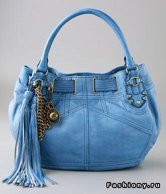 Fringe, as an element of decoration on bags / handbags with fringe