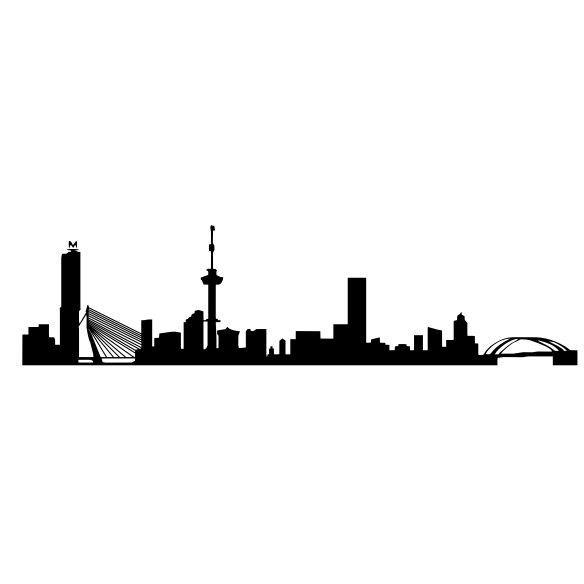 Rotterdam skyline - #Rotterdam #Netherlands
