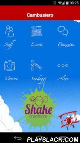 Shake Animazione @Cambusiero  Android App - playslack.com , Shake Animazione @Camsusiero è uno straordinario ed innovativo strumento di comunicazione e socializzazione. Rappresenta la più sorprendente novità della stagione estiva. Si tratta di un acceleratore unico di emozioni, creato con l'obiettivo di tramutare vacanze speciali in vacanze semplicemente indimenticabili. -Mai prima d'ora, turisti ed animatori sono stati così vicini; -Mai prima d'ora la socializzazione tra i turisti è stata…