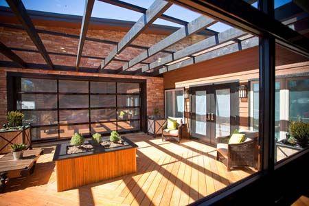 insulated glass overhead door 3