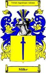 Miller family crest Holland