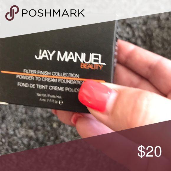 Jay Manuel beauty Powder to cream foundation   Used once jay manuel Makeup Foundation
