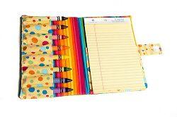 Tutorial: Crayon and notebook folder · Sewing | CraftGossip.com