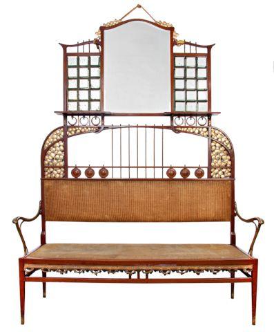 Lavice z módního salonu | Aukce obrazů, starožitností | Aukční dům Sýpka