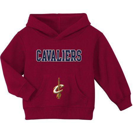 NBA Cleveland Cavaliers Team Fleece Hoodie, Size: 25 Months, Red
