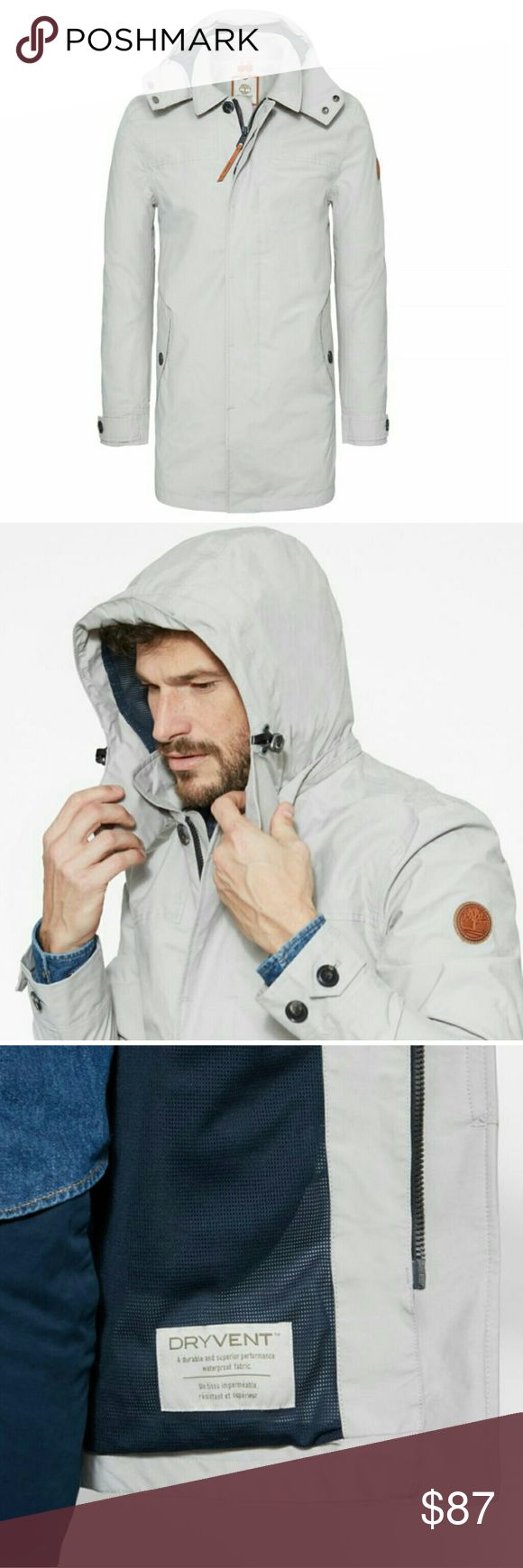 Timberland waterproof - mount Reagan mens mac 100% AUTHENTIC TIMBERLAND WATERPROOF JACKET  Description  Men's mac is made with exclusive seam-sealed DryVent technology that keeps the fabric breathable on the inside and waterproof on the outside. This classic design is a true wet weather essential for the outdoor wardrobe Timberland Jackets & Coats Lightweight & Shirt Jackets