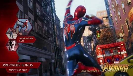Iron Spider Suit confirmed for Spider-Man PS4: Iron Spider