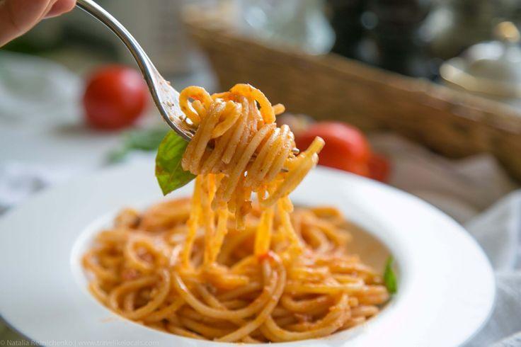 Италия: рецепт вкусного обеда на основе помидор