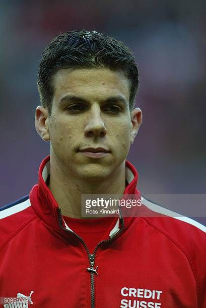 A portrait of Bruno Berner of Switzerland before the Friendly International match between Switzerland and Slovenia at The Stade de Geneve on April 28...