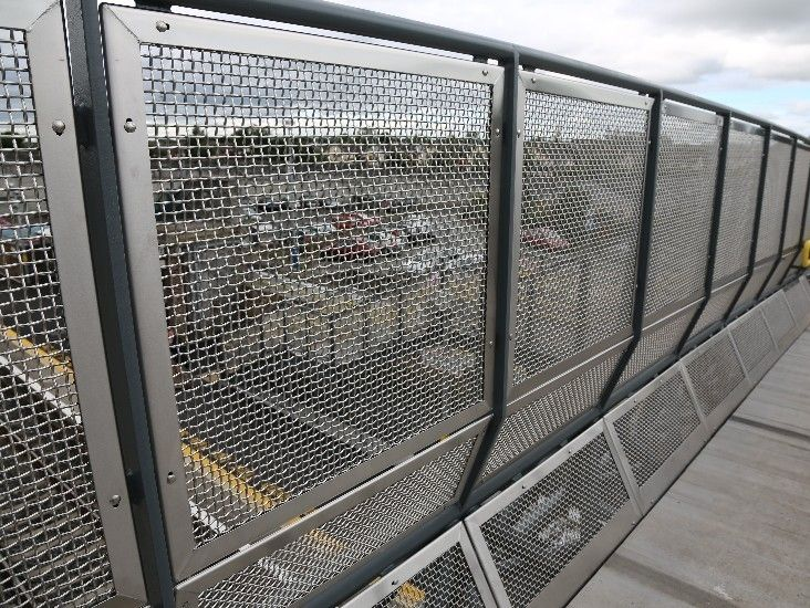 Metal Fence Panels Metal Mesh Fencing Panels Materials