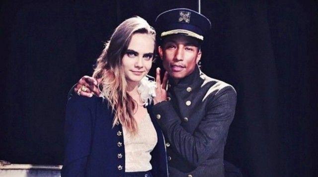 Cara Delevingne & Pharrell Williams per Chanel (FOTO)