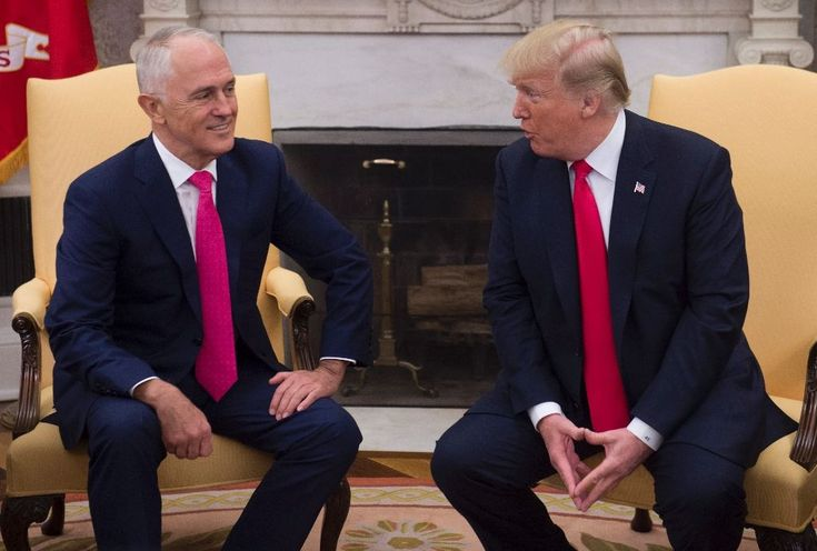 ICYMI: Trump, Turnbull put on show of 'mateship' at the White House