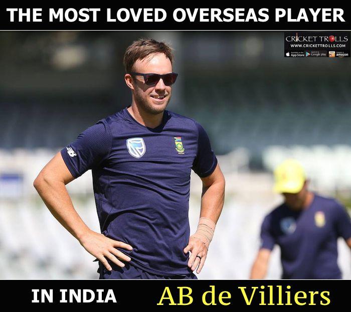 AB de Villiers loves India & India loves Mr. 360 :) For more cricket fun click: http://ift.tt/2gY9BIZ - http://ift.tt/1ZZ3e4d