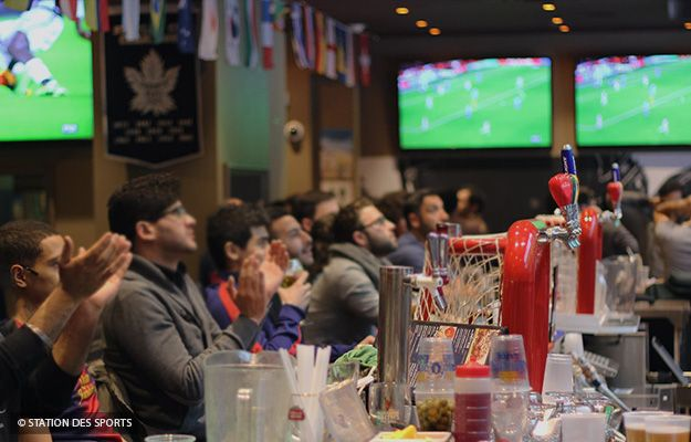 The best sports bars in Montréal