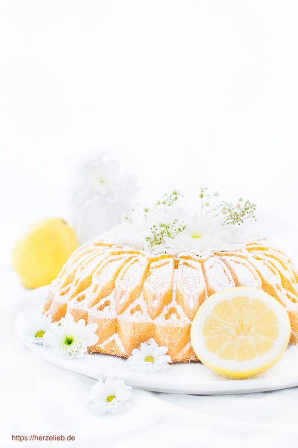 Grießkuchen mit Zitrone