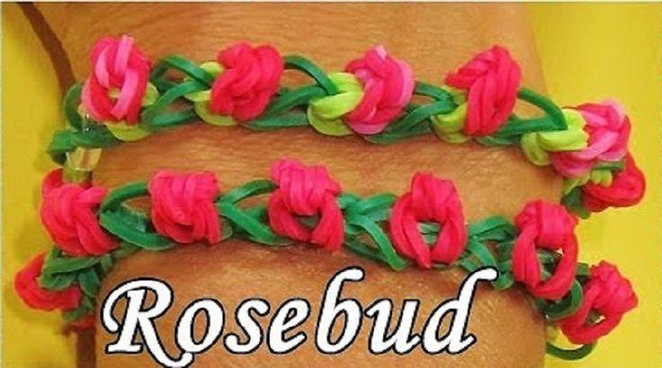 Bracelets en bouton de roses.