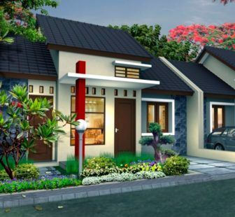 Gambar Teras Rumah Minimalis Tampak Depan 1